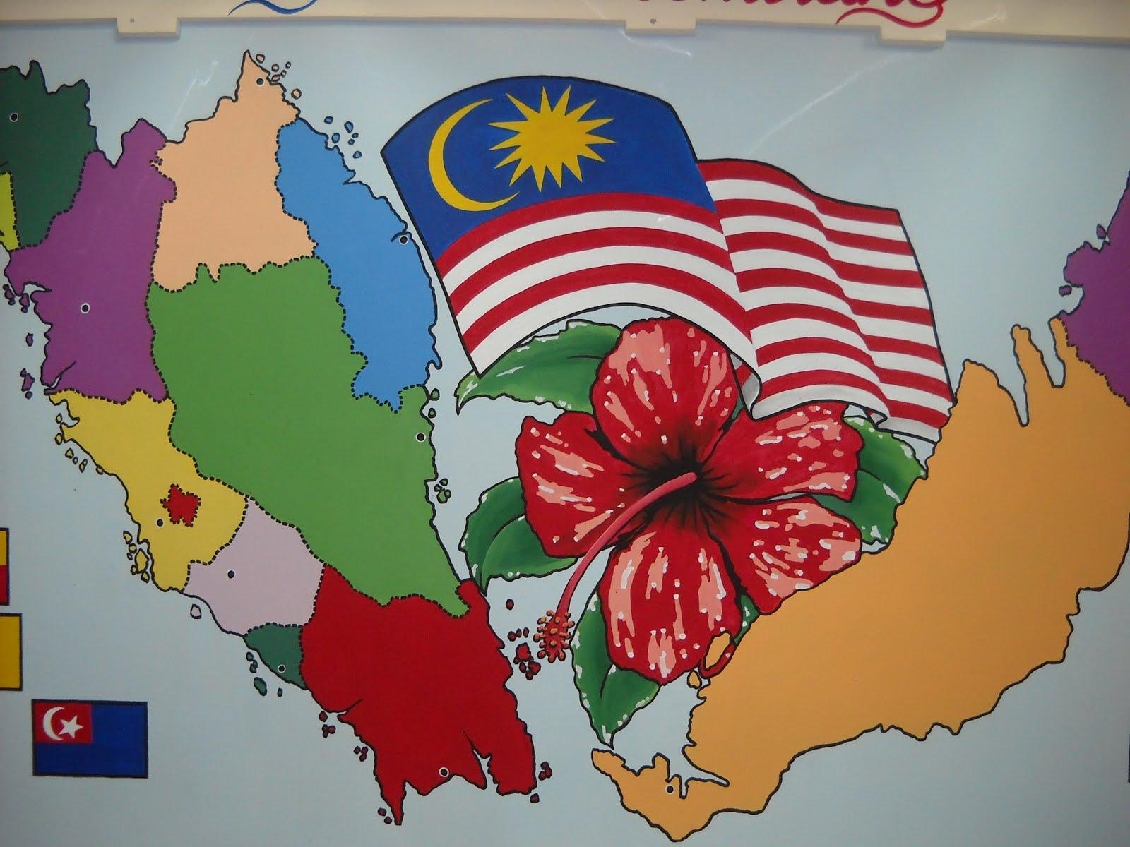 Pelukis mural shah alam peta semenanjung malaysia for Mural 1 malaysia