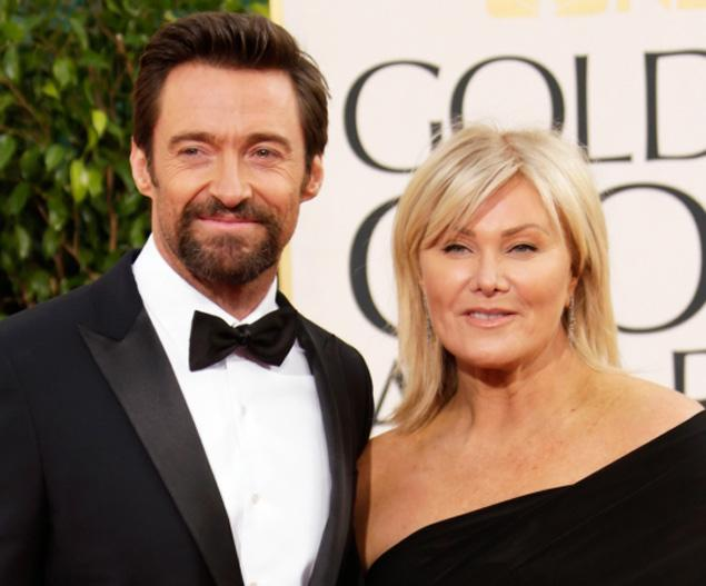 Hugh Jackman with enigmatic, Wife Deborra-Lee Furness