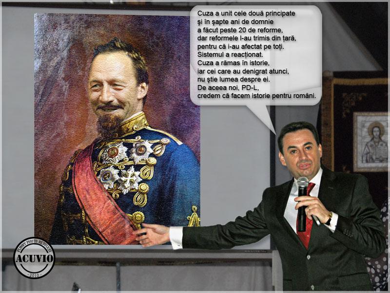 Funny photo Gheorghe Falca Traian Băsescu