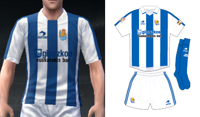 uniforme real sociedad