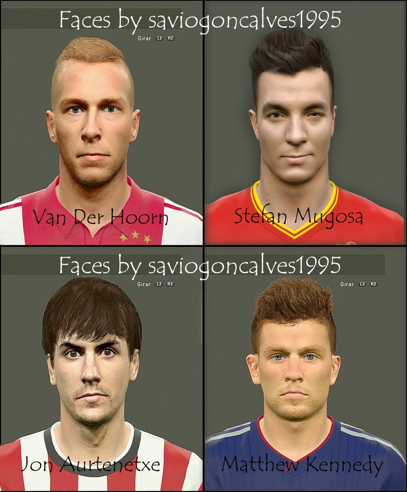 PES 2015 Facepack #2 By saviogoncalves1995