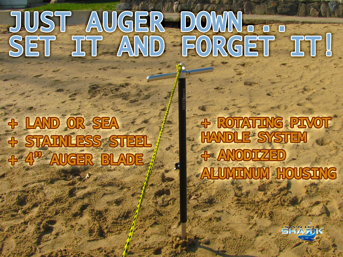 how to use soil auger