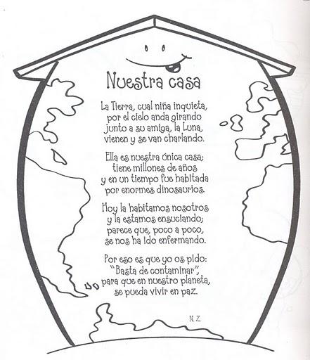 Poemas Del DIA De La Tierra Para Ninos