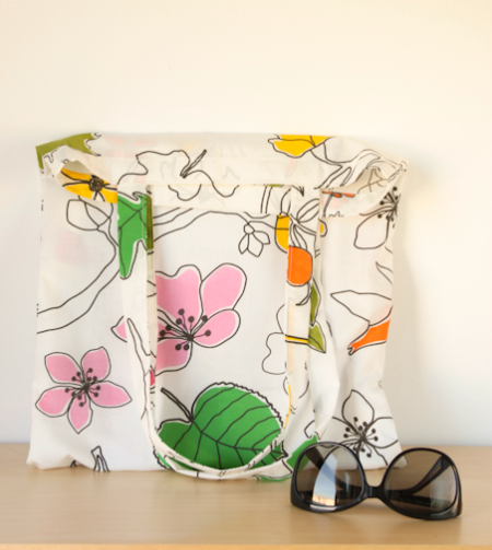 Hacer bolsa de tela aprender manualidades es - Bolsas de tela manualidades ...