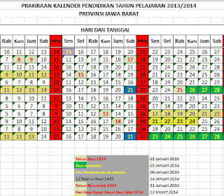 Update kalender Pendidikan 2013-2014 password : calendar. link
