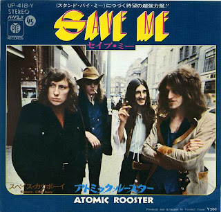 English Progressive Rock Band Atomic Rooster