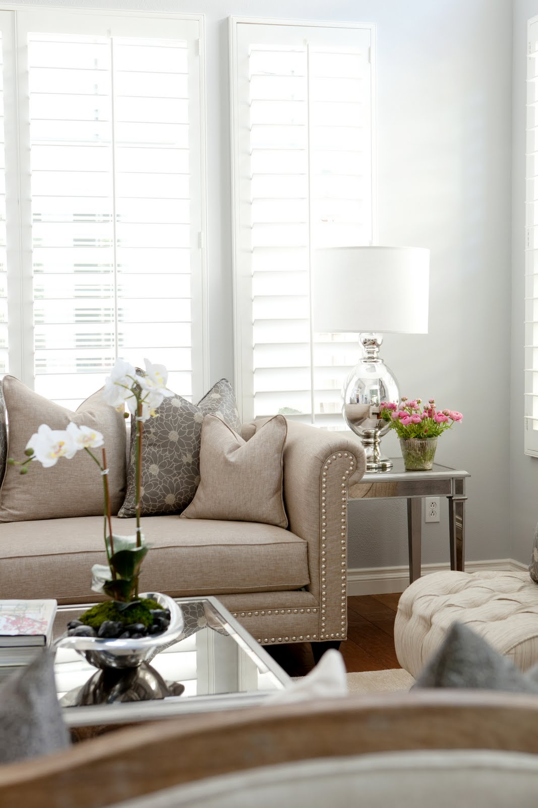 BDG Style: OLD HOLLYWOOD GLAM meets OC LIVING ROOM