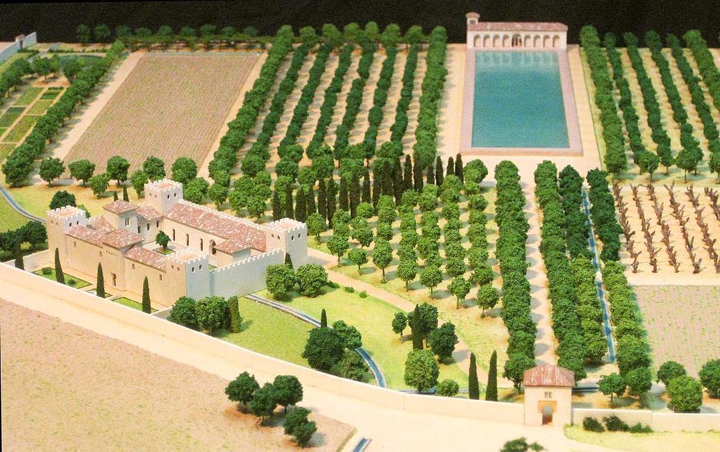 La murga de nito el alc zar genil palacio del duque de gor for Maquetas de jardines