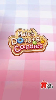 Screenshots of the Match donuts and candies for Android tablet, phone.