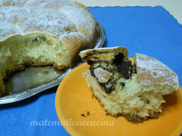 danubio alla nutella- torta a pizzico dolce