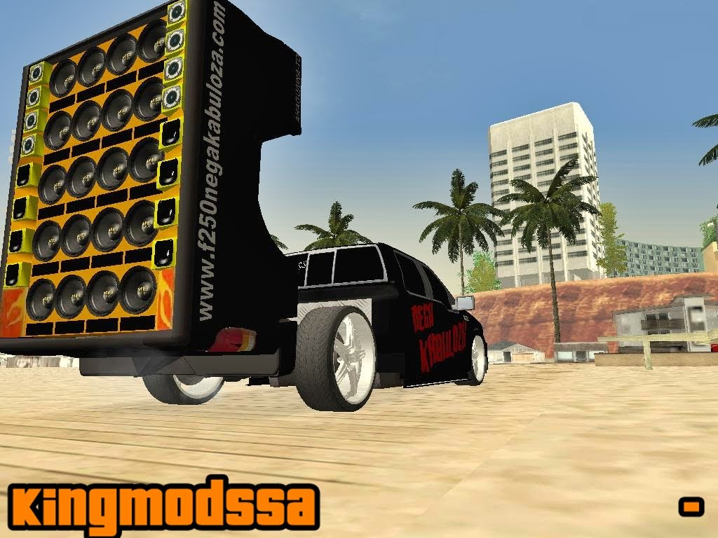 Ford f 250 nega kabuloza gta sa 171 king mods sa download de mods
