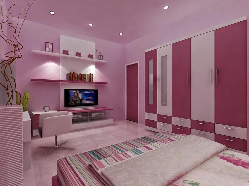 warna cat kamar tidur remaja