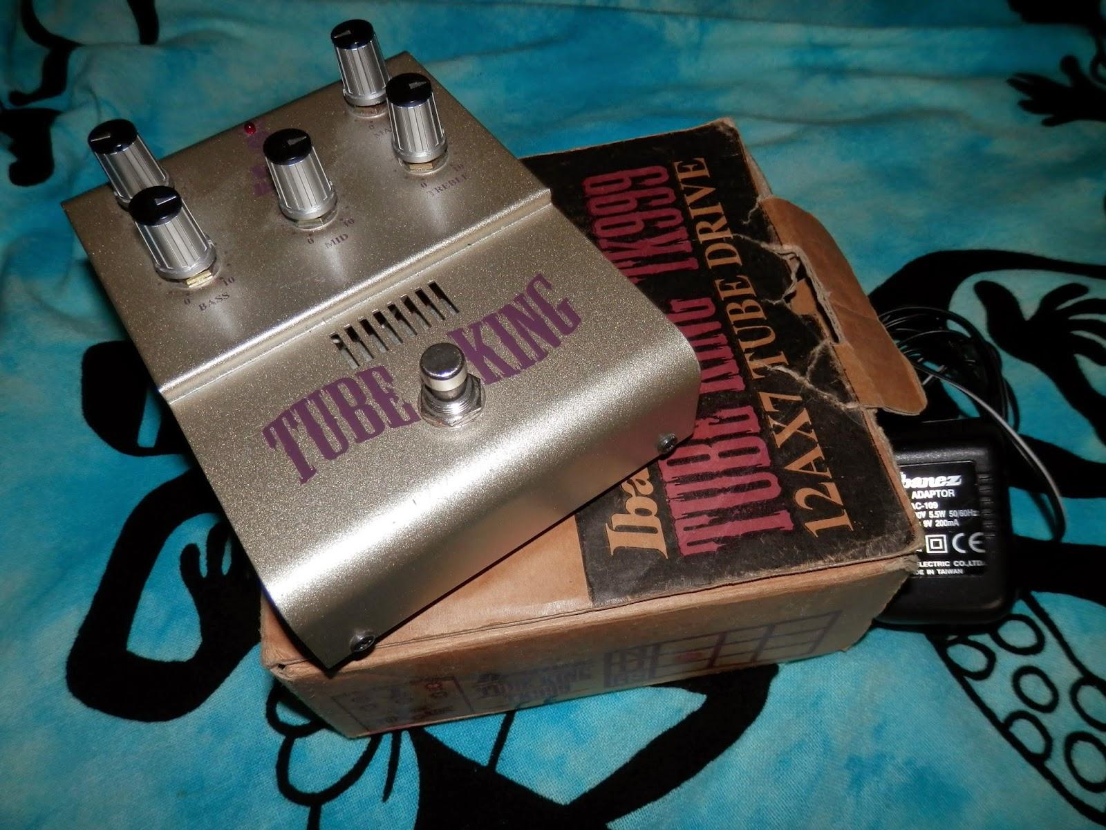 Ibanez tube king tk999 chitarre rock for Chitarre magazine