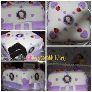 FONDANT CAKE - CUKUR JAMBUL