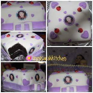 FONDANT CAKE - CUKUR JAMBUL