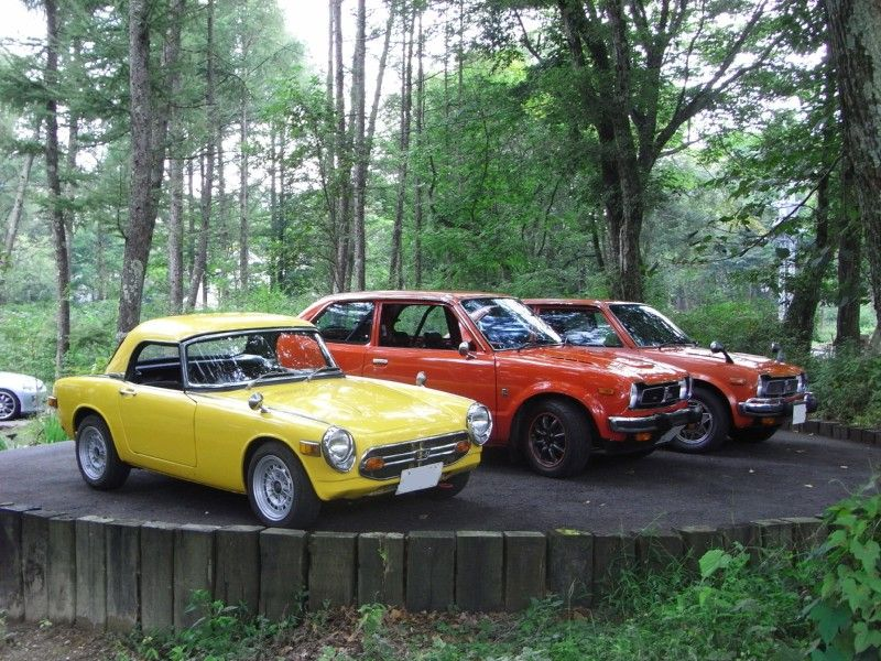 Honda S800, Civic I, klasyczne auta, ciekawe stare samochody