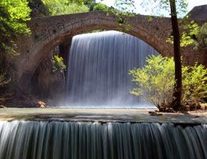 Καταράκτης και γεφύρι Παλαιοκαρυάς