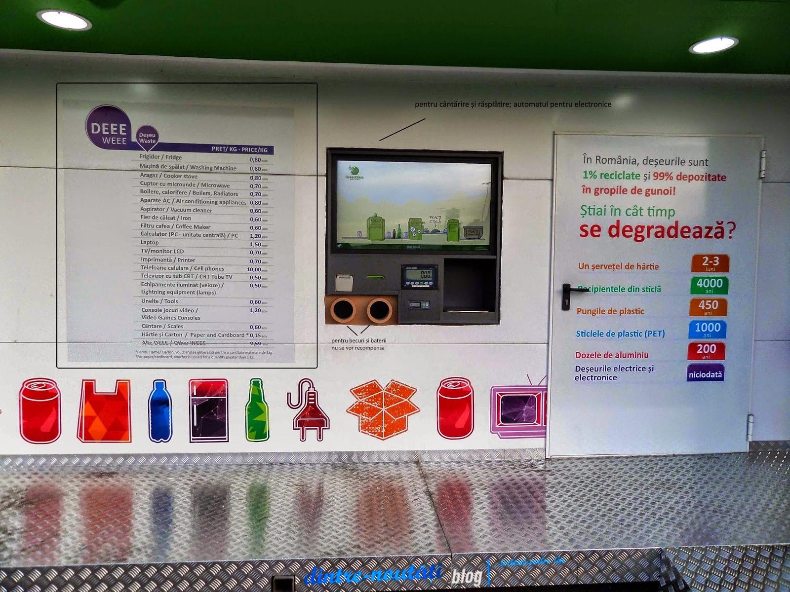 Reciclatorul Inteligent Carrefour Brasov tarife