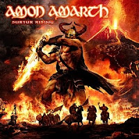 Amon Amarth, Surtur Rising, cd, audio, new,album, tracklist