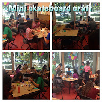 Teen Craft: Mini Skateboards!