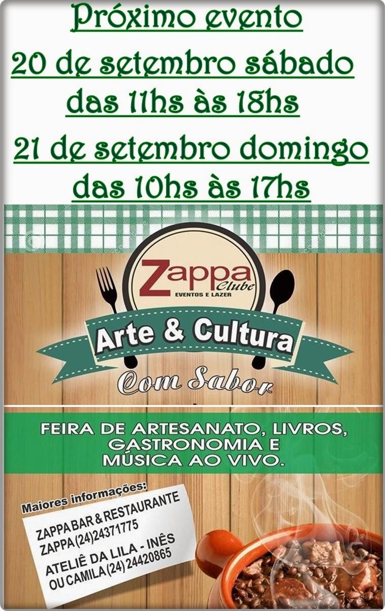 Arte e Cultura com sabor com diversos artesãos encanta turista em Ipiabas no Zappa Clube