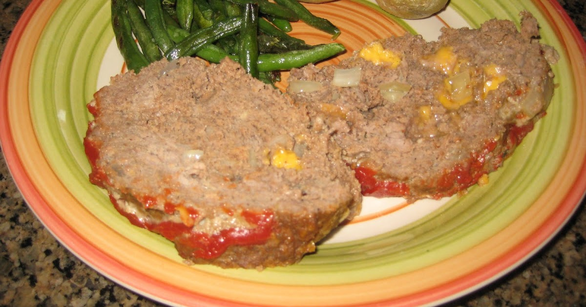 Britt's Apron: Cheesy Meatloaf