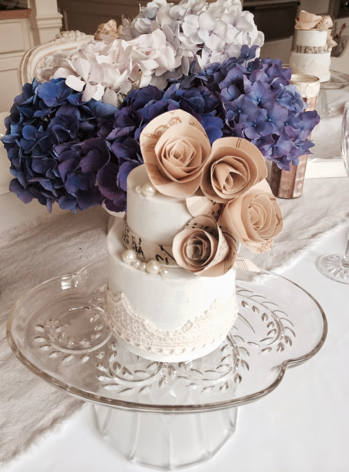 like a beautiful cake these decorative cakes also look lovely as centerpieces on your dining table or displayed in a hutch - Decorative Cakes
