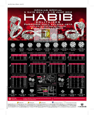 Habib Jewels Opening Sale