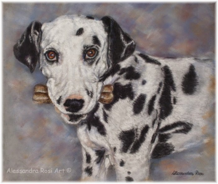 Custom dog portrait, pet portrait, animal paintings, fine art