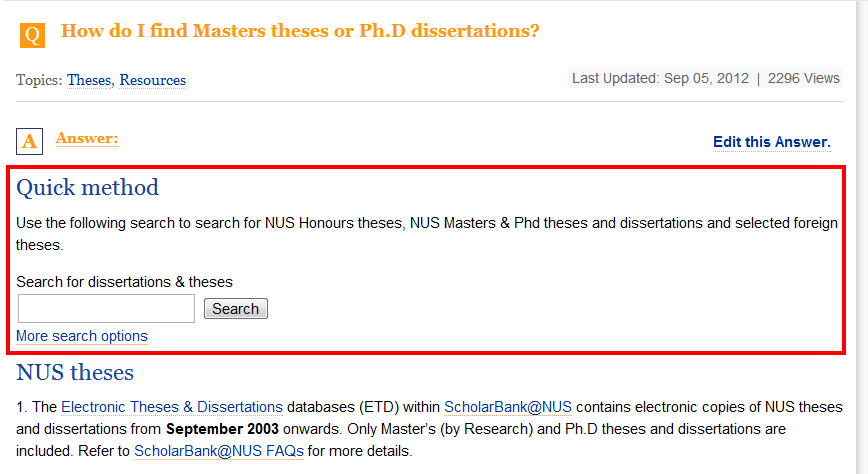 search dissertations thesis A guide to identifying and locating rutgers dissertations and theses from the earliest years to the present day tips for searching the library catalog and rucore for dissertations and theses.