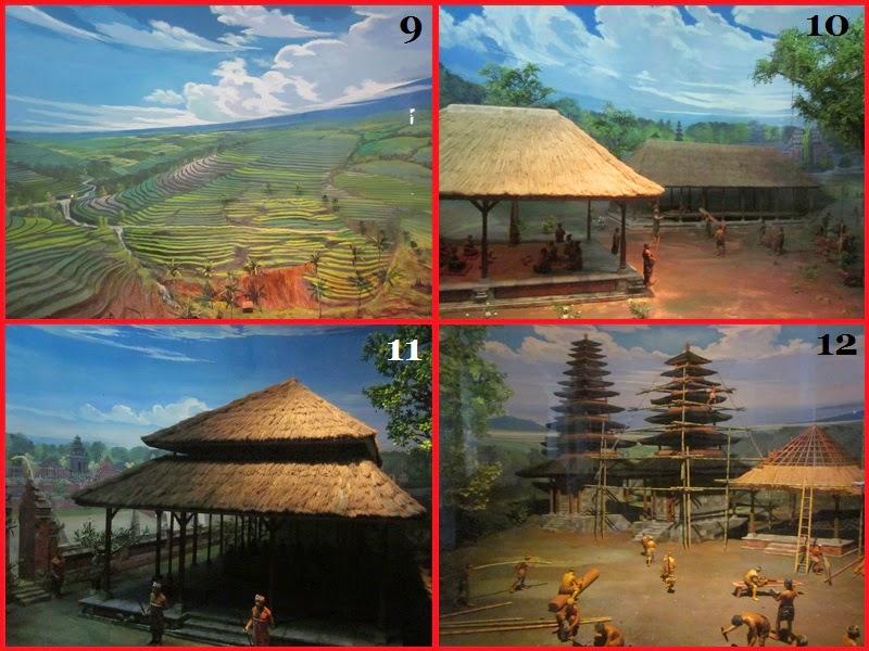 Diorama ke 9-12 Di Museum Bajra Sandi