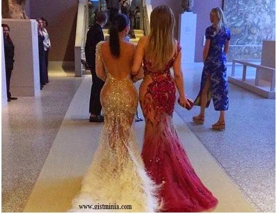 Photos of Kim Kardashian vs J Lo at Met Gala