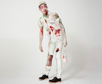 disfraz de zombie lechero