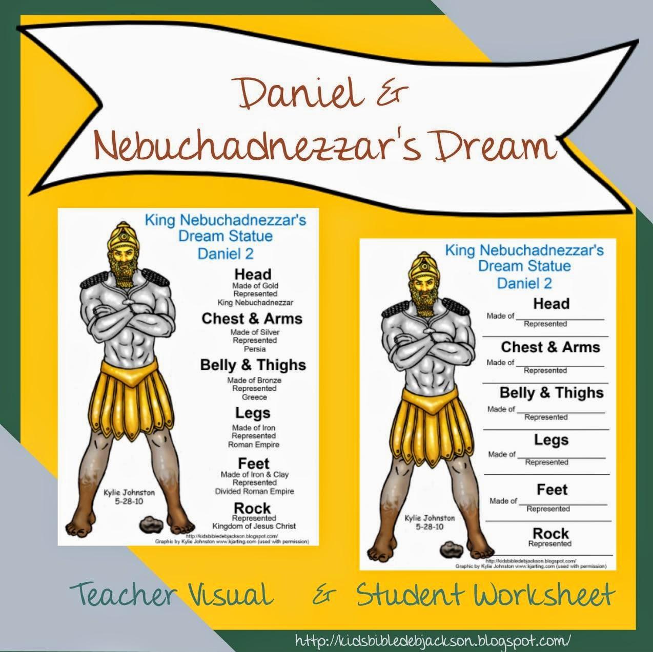 http://kidsbibledebjackson.blogspot.com/2014/05/daniel-nebuchadnezzars-dream.html