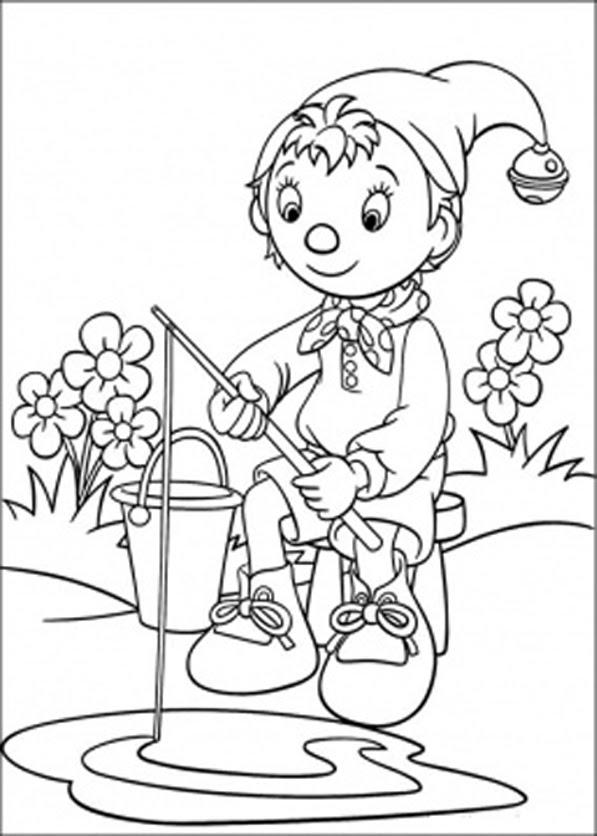 Desenhos Para Pintar e Colorir Noddy Imprimir Desenho  - imagens para colorir noddy