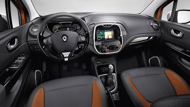 Renault Captur Crossover interior
