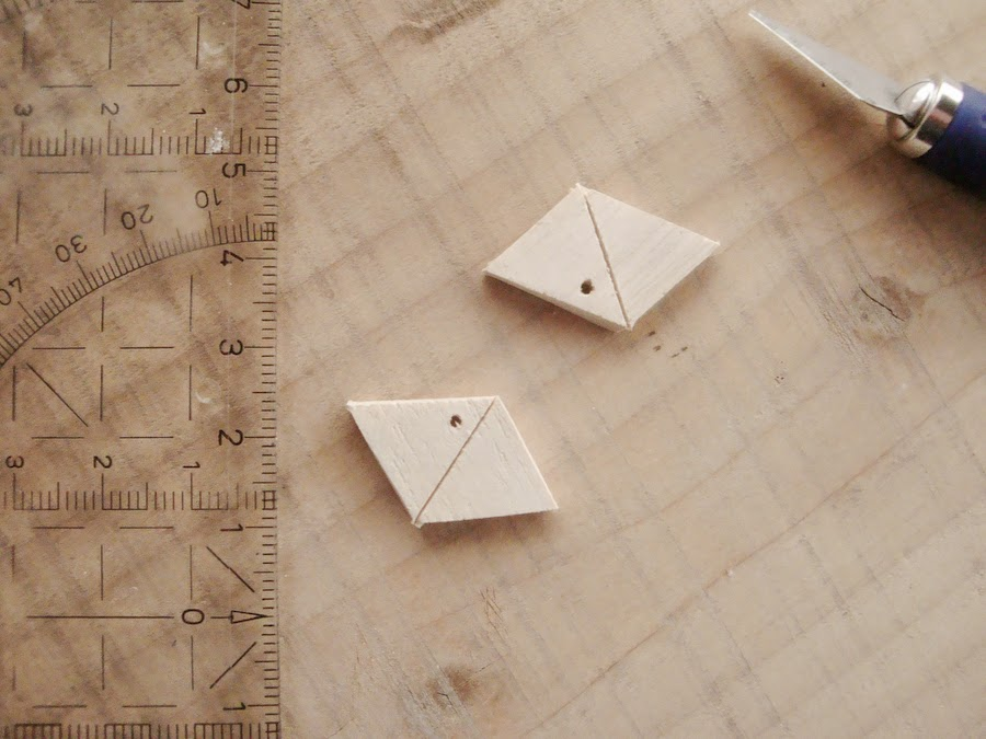 "Use the cutter to ""draw"" some geometrical forms"
