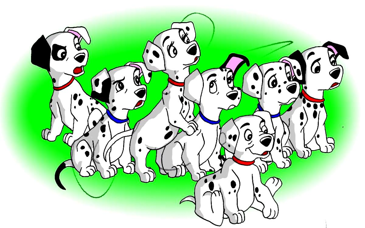 It's just a picture of Crafty 101 Dalmatians Images