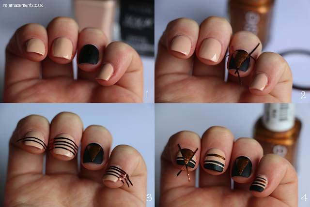 Geometric Nail Art Tutorial