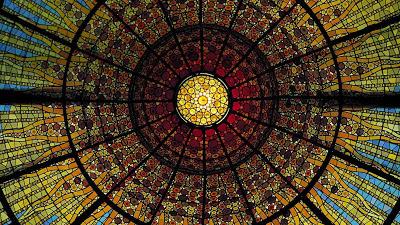 Acura Ocean on Of The Palau De La Musica Catalana  Barcelona  Spain     Ocean Corbis