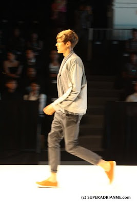 Feiyue Shoes at the Men's Fashion Week 2011 Pics