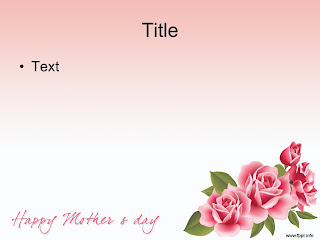Mother's Day PowerPoint template 002B