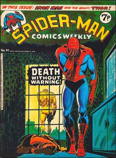 Spider-Man Comics Weekly #91, Marvel UK