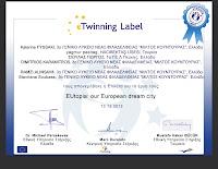 eTwinning certificate
