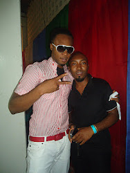 WITH MY BOY FROM NIGERIA  'MR.FLAVOUR