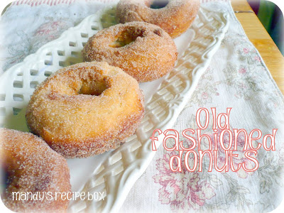 Old Fashioned Donuts from Mandy's Recipe Box
