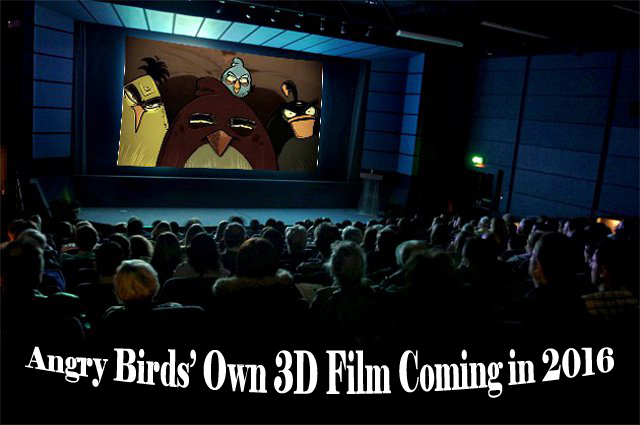 Angry Birds 3D Film