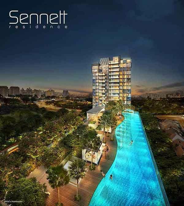 Sennett Residence Penthouse units