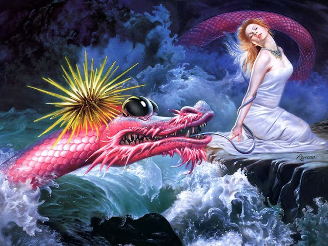 Rowena Morrill's Dragon's Serenade