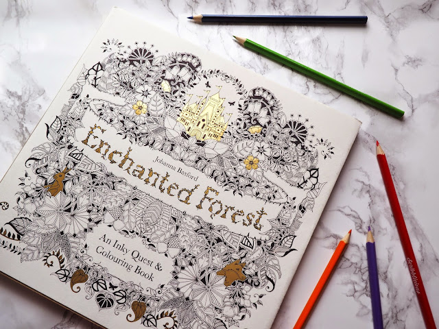 Lifestyle 10 Things To Do When Feeling Sad Enchanted Forest Colouring Book